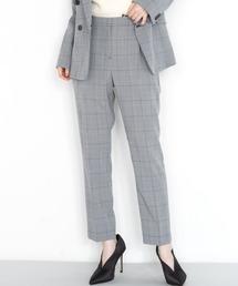 パンツ スーツ 洗える!タックテーパードパンツ(セットアップ対応)|ZOZOTOWN PayPayモール店