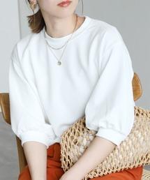 tシャツ Tシャツ ボリューム袖ショート丈カットソー|ZOZOTOWN PayPayモール店
