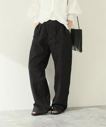 パンツ 【ARMEN/アーメン】ONE-TUCK PANTS:パンツ ZOZOTOWN PayPayモール店
