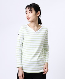 tシャツ Tシャツ 【 Le Minor / ルミノア 】マドモアゼル 浅V 20 LM20G104BC|ZOZOTOWN PayPayモール店
