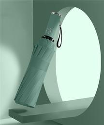 折りたたみ傘 【晴雨兼用】ユニセックス  丈夫な12本骨 ワンタッチ 自動開閉 折りたたみ傘 UVカット99% ZOZOTOWN PayPayモール店