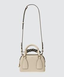 ショルダーバッグ バッグ DARIA / グレイン&シャイニーカーフスキン デイバッグ SMALL DAY BAG|ZOZOTOWN PayPayモール店
