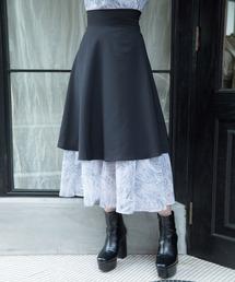 スカート マーブルシフォンレイヤードスカート ZOZOTOWN PayPayモール店
