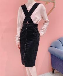スカート コーデュロイサロペットスカート|ZOZOTOWN PayPayモール店