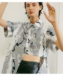 シャツ ブラウス Abstract Print Shirt|ZOZOTOWN PayPayモール店