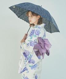 折りたたみ傘 【晴雨兼用傘】チューリップ刺繍 ミニ 折りたたみ 日傘|ZOZOTOWN PayPayモール店