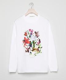 tシャツ Tシャツ Floral Longsleeve T-shirt|ZOZOTOWN PayPayモール店
