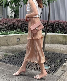 スカート チューリッププリーツタイトスカート|ZOZOTOWN PayPayモール店