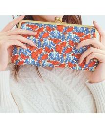 財布 IEDIT 大人リバティプリントで気分が上がるマルチに使えるダブルがま口長財布|ZOZOTOWN PayPayモール店