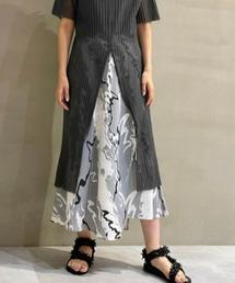 スカート Abstract Print Skirt|ZOZOTOWN PayPayモール店