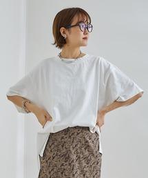 tシャツ Tシャツ 【WEB限定】ワイドクルーネックチュニックT|ZOZOTOWN PayPayモール店