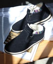 ブーツ [メンズ・レディスサイズ対応]ふわふわボアが暖かいダブルジップムートンブーツ|ZOZOTOWN PayPayモール店