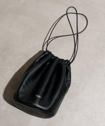バッグ ハンドバッグ JANESMITH ジェーンスミス / LEATHER DRAWSTRING BAG レザードローストリングバッグ 巾着バッグ|ZOZOTOWN PayPayモール店