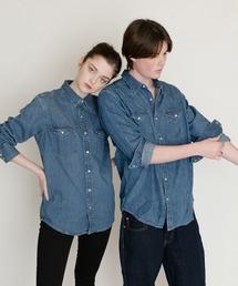 シャツ ブラウス CLASSIC ウエスタンシャツ STANDARD DARK WASH H2 1|ZOZOTOWN PayPayモール店