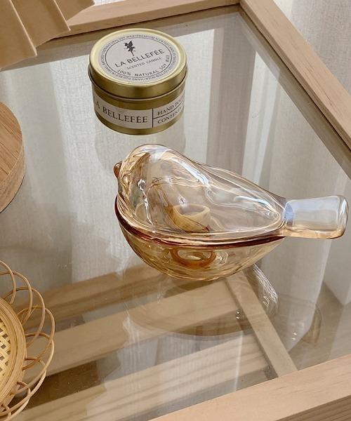 インテリア 小鳥ガラスジュエリーケース 安売り セール特別価格