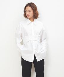 シャツ ブラウス ベルト付きシャツ(LOVE SHRIT ) ZOZOTOWN PayPayモール店