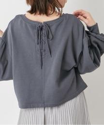 tシャツ Tシャツ サスティナブルプルオーバー/後レースアップ ZOZOTOWN PayPayモール店
