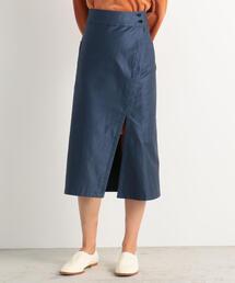 スカート コットンモールスキン サイドスリットスカート|ZOZOTOWN PayPayモール店