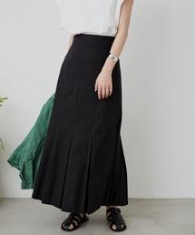 スカート リネンブレンドプリーツスカート / AUNT MARIE'S|ZOZOTOWN PayPayモール店