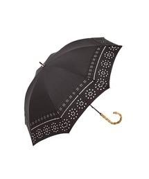 傘 【晴雨兼用傘】バンブー 持ち手ボヘミアンレース刺繍 日傘|ZOZOTOWN PayPayモール店