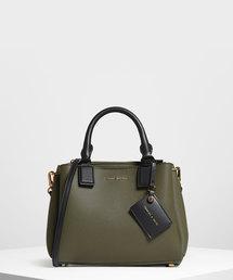 トートバッグ バッグ トップハンドルストラクチャーバッグ / Top Handle Structured Bag|ZOZOTOWN PayPayモール店