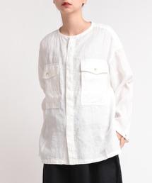 シャツ ブラウス B2626 リネンオーバーシャツジャケット|ZOZOTOWN PayPayモール店