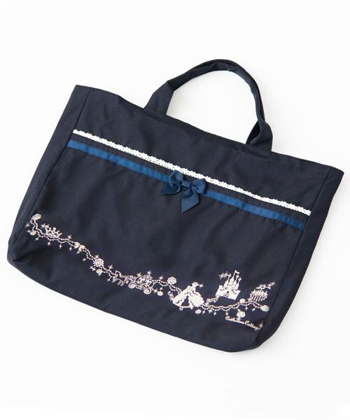 高品質 ランキング総合1位 トートバッグ バッグ 刺繍レッスンバッグ