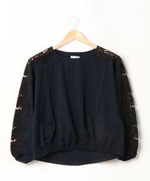 tシャツ Tシャツ 【Brahmin】袖レースカットソー|ZOZOTOWN PayPayモール店