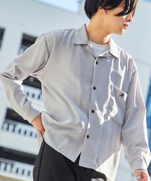 シャツ ブラウス ▽WEB限定 KANGOL/カンゴール 別注 L/Sリラックスオープンカラーシャツ 2021SPRING ZOZOTOWN PayPayモール店