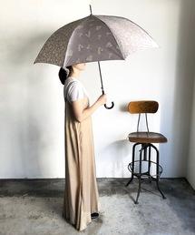傘 NT:サテンボタニカル パッチ アンブレラ 雨晴兼用|ZOZOTOWN PayPayモール店