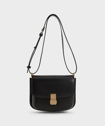 ショルダーバッグ バッグ メタリックプッシュロック ショルダーバッグ / Metallic Push-Lock Shoulder Bag|ZOZOTOWN PayPayモール店