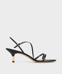 サンダル ストラッピー メタリックヒールサンダル / Strappy Metallic Heel Sandals|ZOZOTOWN PayPayモール店