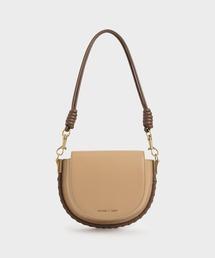 ショルダーバッグ バッグ ステッチトリム サドルバッグ / Stitch Trim Saddle Bag|ZOZOTOWN PayPayモール店