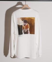 tシャツ Tシャツ JANESMITH ジェーンスミス / YELLOW SMOKE LONG SLEEVE T-SHIRT アーティストコラボプリン|ZOZOTOWN PayPayモール店
