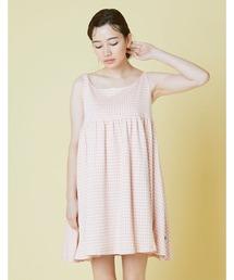 キャミソール Check girly cami dress|ZOZOTOWN PayPayモール店