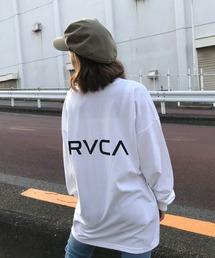 tシャツ Tシャツ RVCA/ルーカ  バックプリント  ビッグシルエットロンT   BB043-054|ZOZOTOWN PayPayモール店