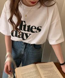 tシャツ Tシャツ Tuesday ルーズラウンドネックTシャツ|ZOZOTOWN PayPayモール店