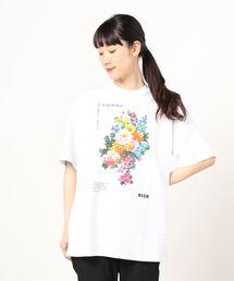 tシャツ Tシャツ MSGM(エムエスジーエム)フラワーTシャツ|ZOZOTOWN PayPayモール店