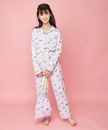 ルームウェア パジャマ 巾着付きリボンロゴ総柄ルームウェア|ZOZOTOWN PayPayモール店