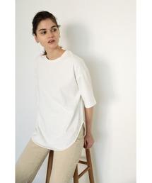 tシャツ Tシャツ round hem over t-shirt(ラウンドヘムオーバーTシャツ)|ZOZOTOWN PayPayモール店