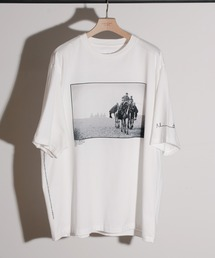 tシャツ Tシャツ JANESMITH ジェーンスミス / SANDS OF GIZA & BACKGAMMON SHORT SLEEVE T-SHI|ZOZOTOWN PayPayモール店