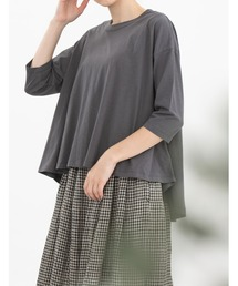 tシャツ Tシャツ Cornetコットンリネン7分袖Tシャツ|ZOZOTOWN PayPayモール店
