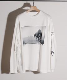 tシャツ Tシャツ JANESMITH ジェーンスミス / SANDS OF GIZA & BACKGAMMON LONG SLEEVE T-SHIR|ZOZOTOWN PayPayモール店