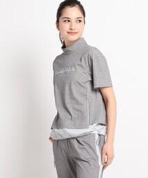 tシャツ Tシャツ サステナブルジャージ素材 モックネックプルオーバー ZOZOTOWN PayPayモール店