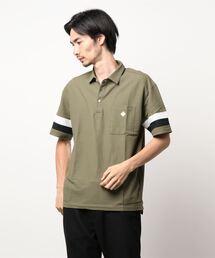 ポロシャツ 袖ライン切替えボタンダウンポロシャツ|ZOZOTOWN PayPayモール店