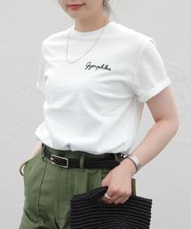 tシャツ Tシャツ GYMPHLEX/ジムフレックス 刺繍TEE J-1155CH(ウィメンズ) ZOZOTOWN PayPayモール店