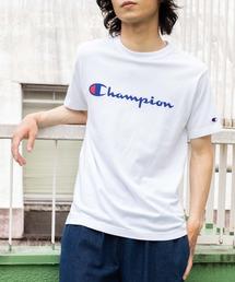tシャツ Tシャツ WEGO/【一部店舗限定】Champion チャンピオン ロゴ半袖Tシャツ|ZOZOTOWN PayPayモール店