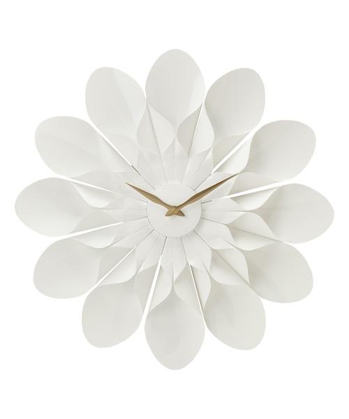 時計 マート シェリー ウォールクロック ホワイト 安売り