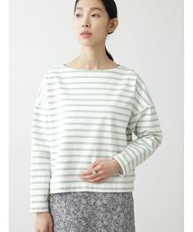 tシャツ Tシャツ ◆天竺ボーダー裏起毛カットソー|ZOZOTOWN PayPayモール店