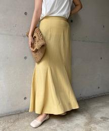 スカート 〈WEB限定〉リネンマーメイドスカート|ZOZOTOWN PayPayモール店